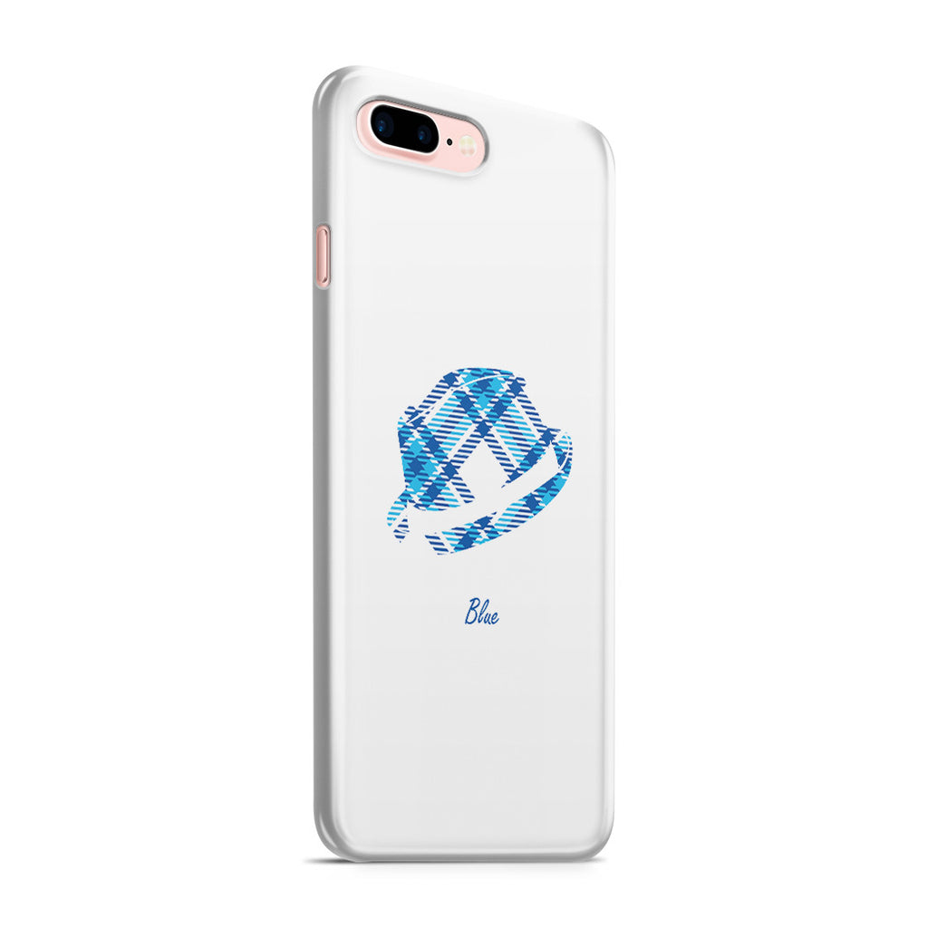 iPhone 7 Plus Case - Blue Bro's Fedora