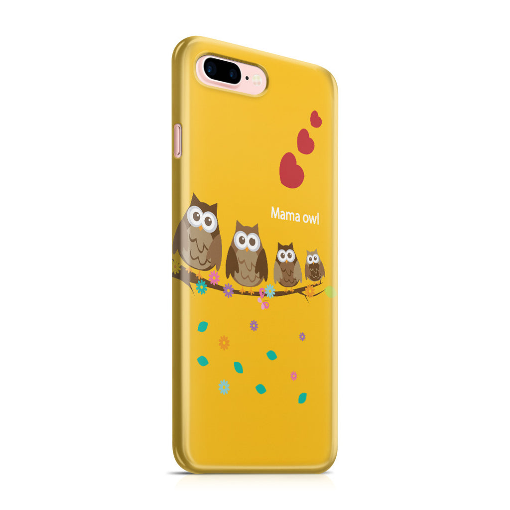 iPhone 7 Plus Case - Owl Family