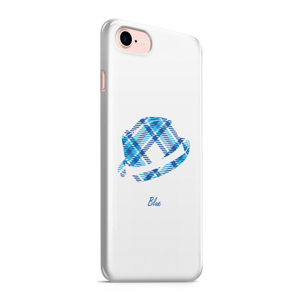 iPhone 7 Case - Blue Bro's Fedora