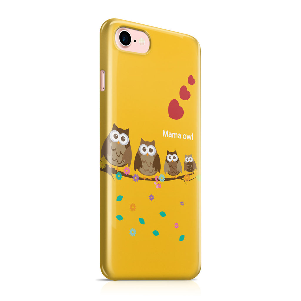 iPhone 7 Case - Owl Family