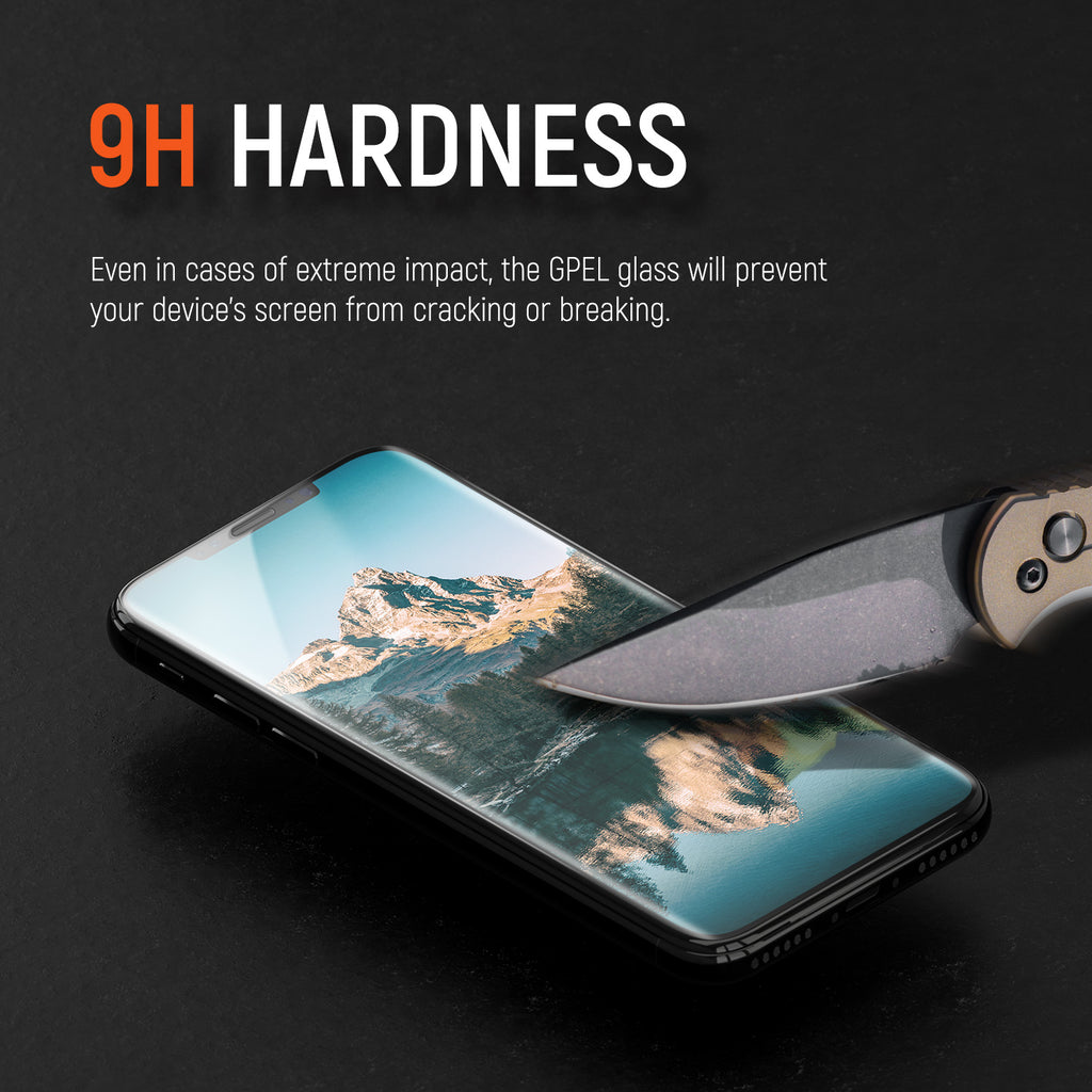 iPhone XR Real Tempered Glass Screen Protector - 1 Pack