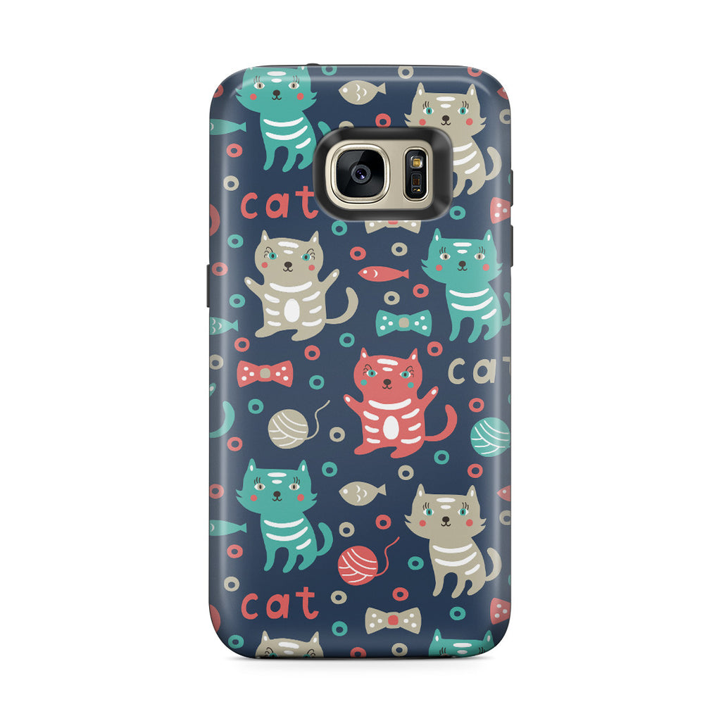 Galaxy S7 Edge Adventure Case - Cute Kitty