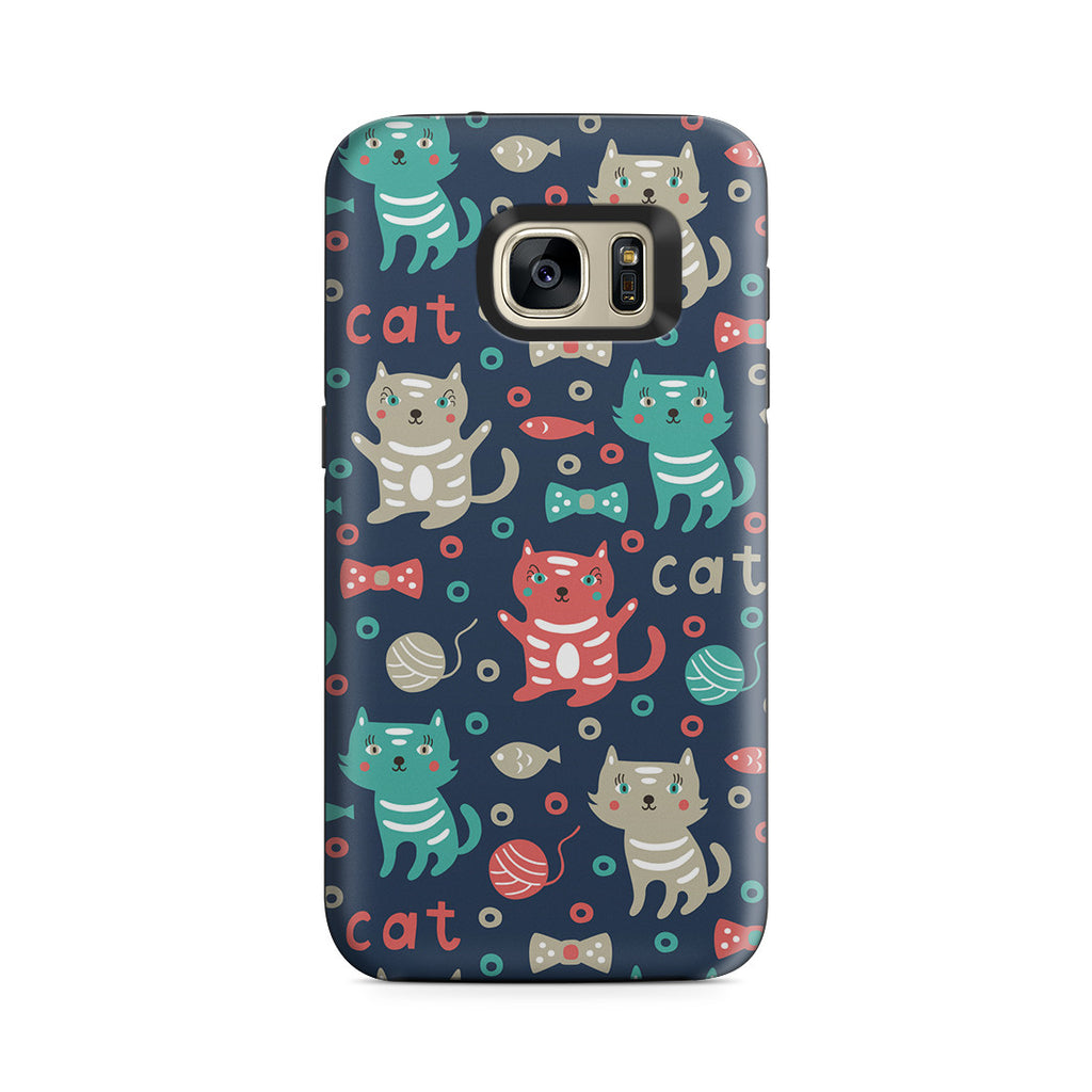 Galaxy S7 Adventure Case - Cute Kitty