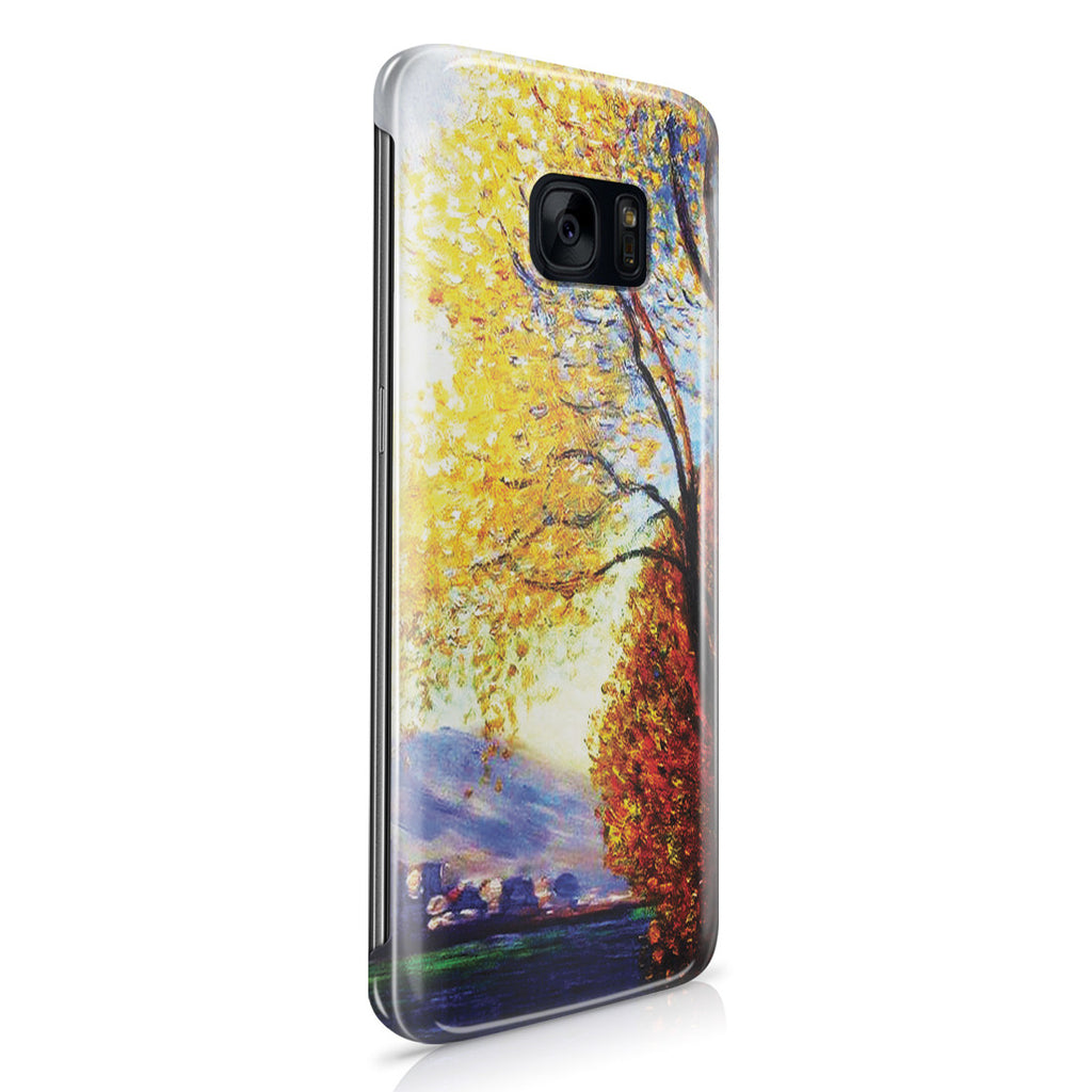 Galaxy S7 Edge Case - Antibes, View of Salls by Claude Monet