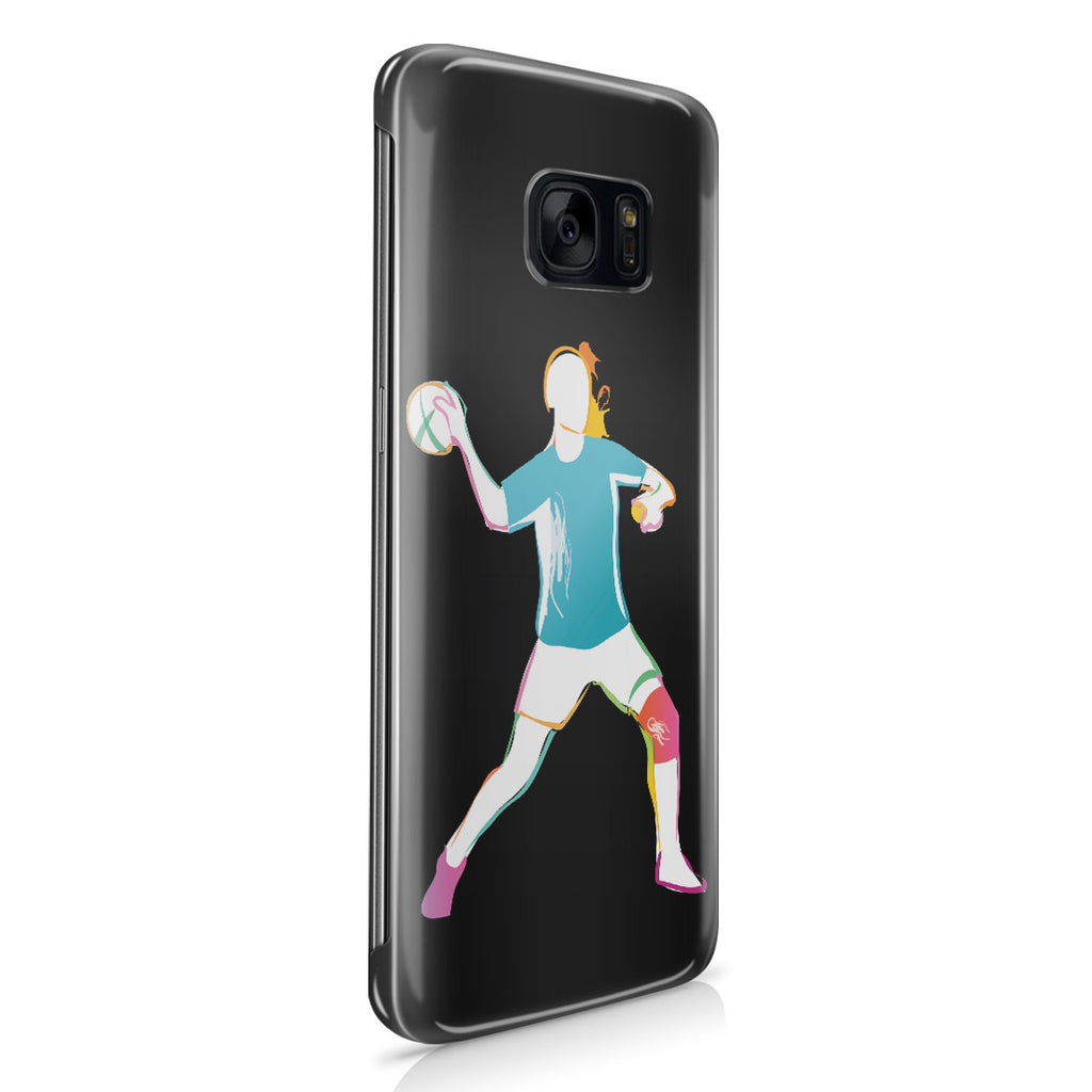 Galaxy S7 Edge Case - Woman Handball