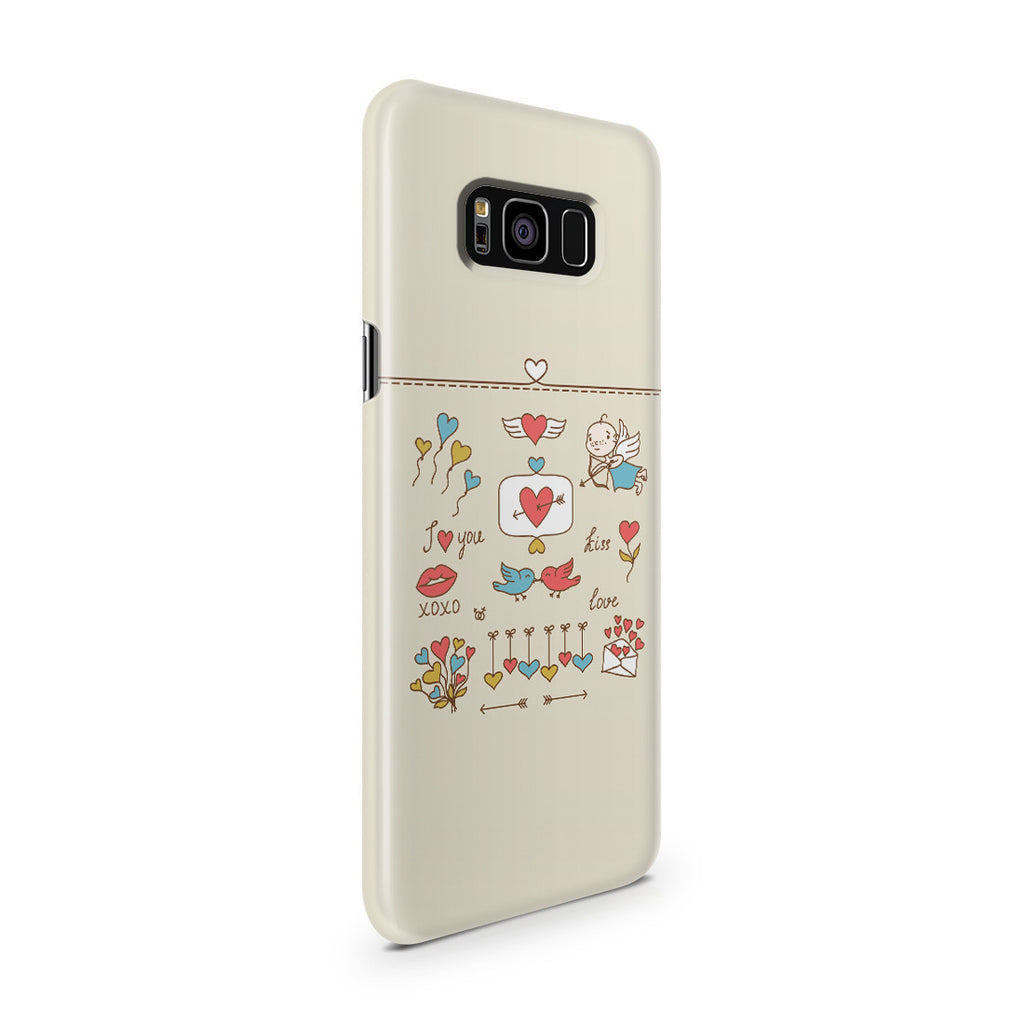 Galaxy S8 Plus Case - Love at First Sight