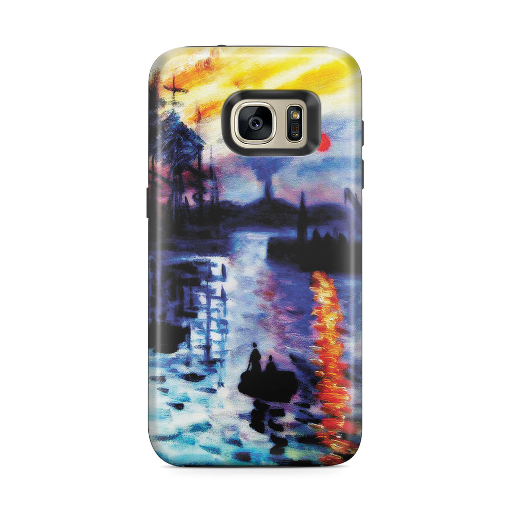 Galaxy S7 Edge Adventure Case - Impression, Sunrise by Claude Monet