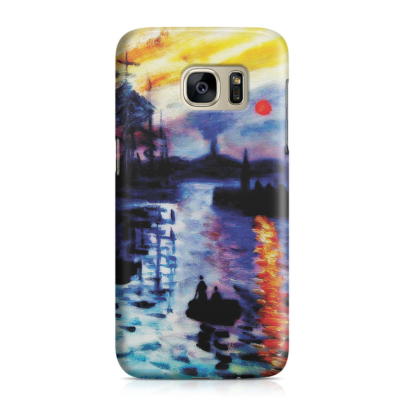 Galaxy S7 Case - Impression, Sunrise by Claude Monet
