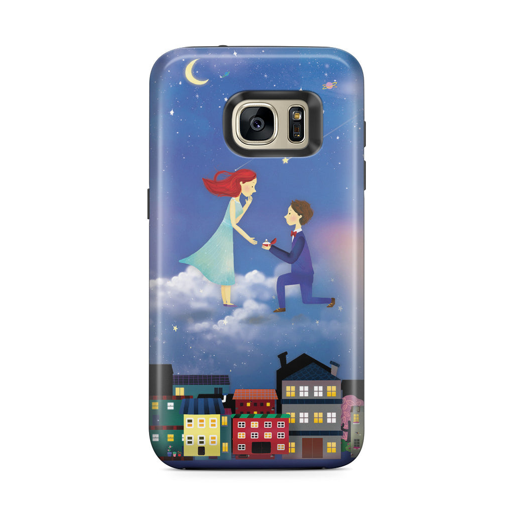 Galaxy S7 Edge Adventure Case - If You Be My Star I'll Be Your Sky