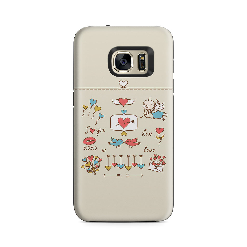 Galaxy S7 Adventure Case - Love at First Sight