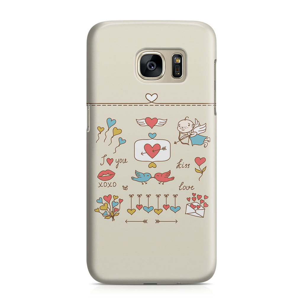 Galaxy S7 Case - Love at First Sight