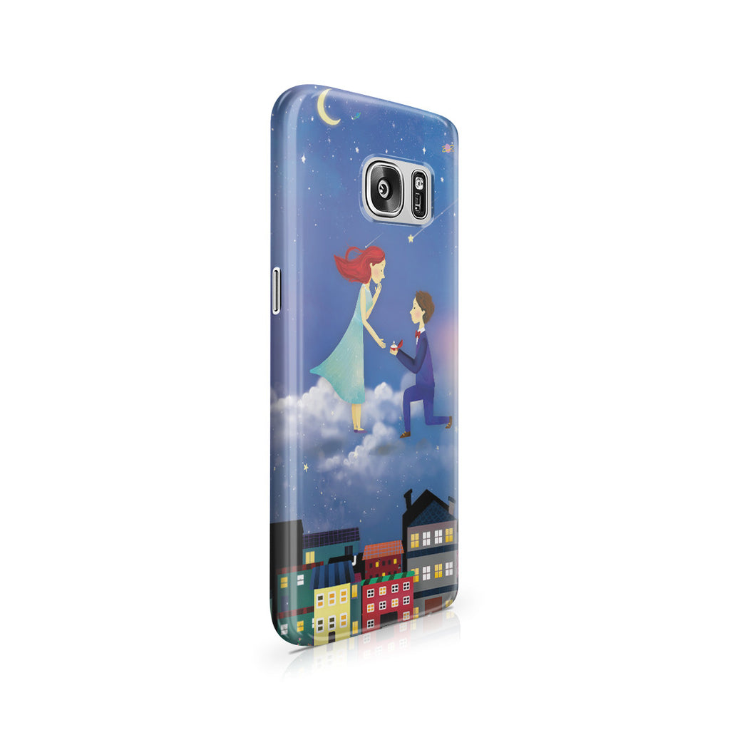Galaxy S7 Case - If You Be My Star I'll Be Your Sky