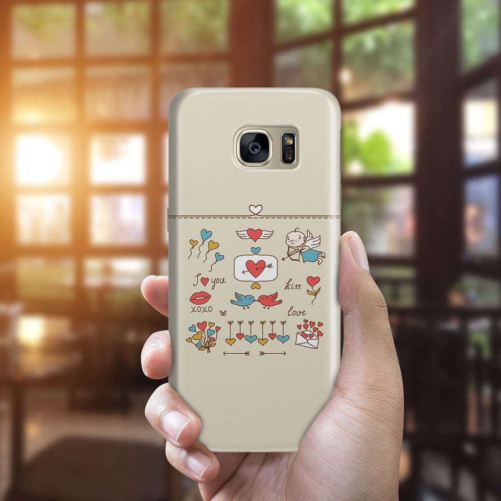 Galaxy S7 Edge Case - Love at First Sight
