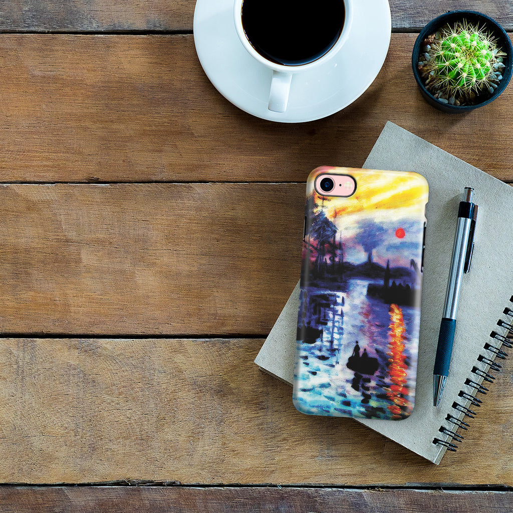 iPhone 7 Adventure Case - Impression, Sunrise by Claude Monet