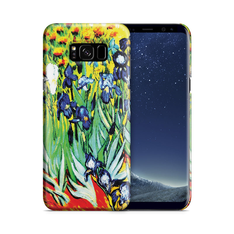 Galaxy S8 Plus Case - Irises by Vincent Van Gogh