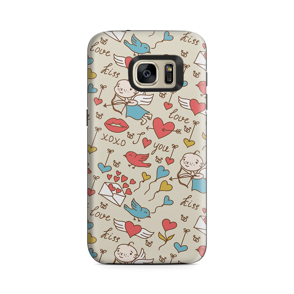 Galaxy S7 Adventure Case - I'm with Cupid