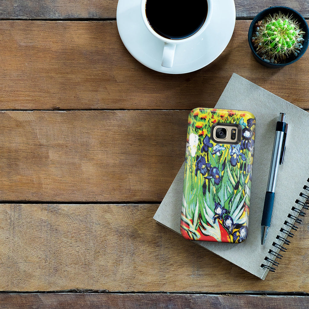 Galaxy S7 Edge Adventure Case - Irises by Vincent Van Gogh