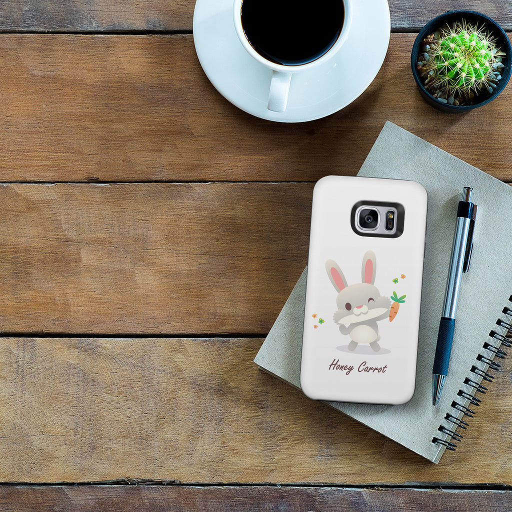 Galaxy S7 Adventure Case - Honey Carrot