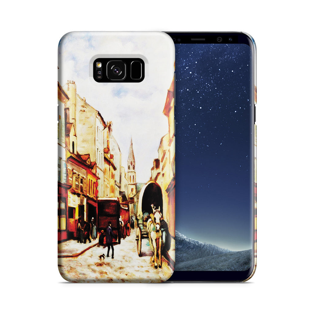 Galaxy S8 Plus Case - La Grand Rue by Argenteuil
