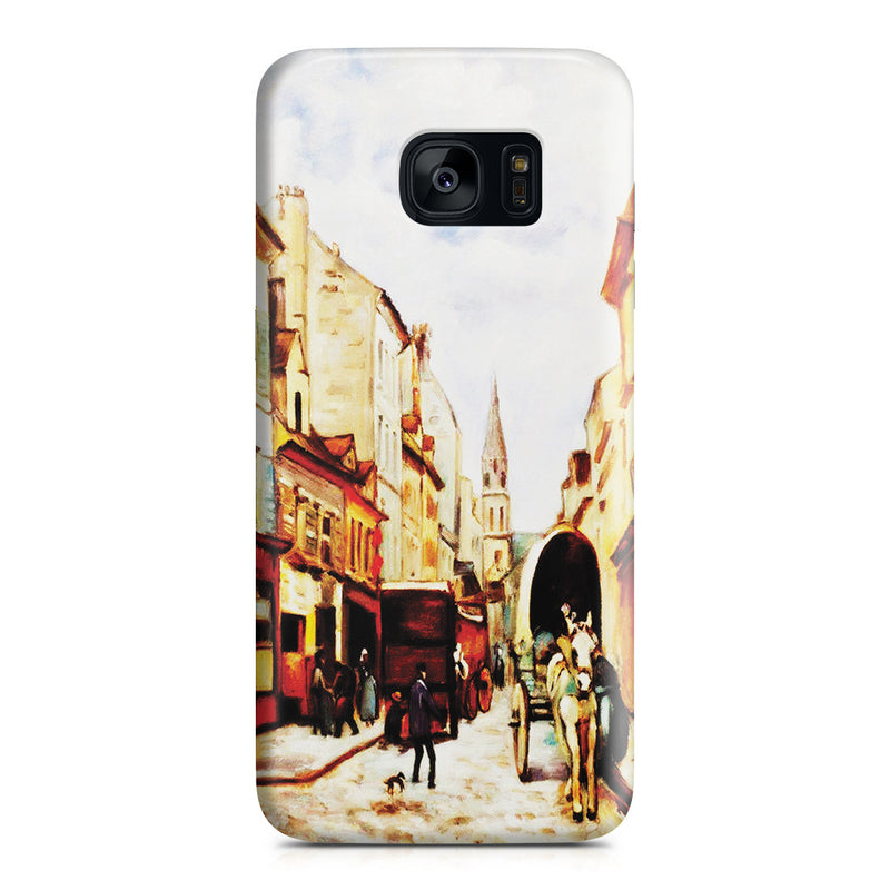 Galaxy S7 Edge Case - La Grand Rue by Argenteuil