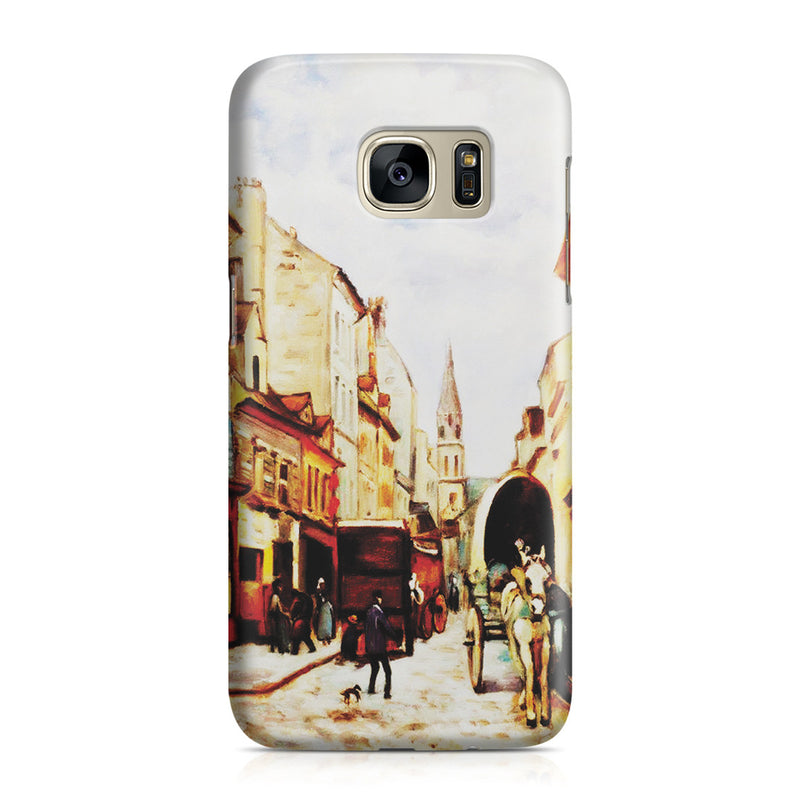 Galaxy S7 Case - La Grand Rue by Argenteuil