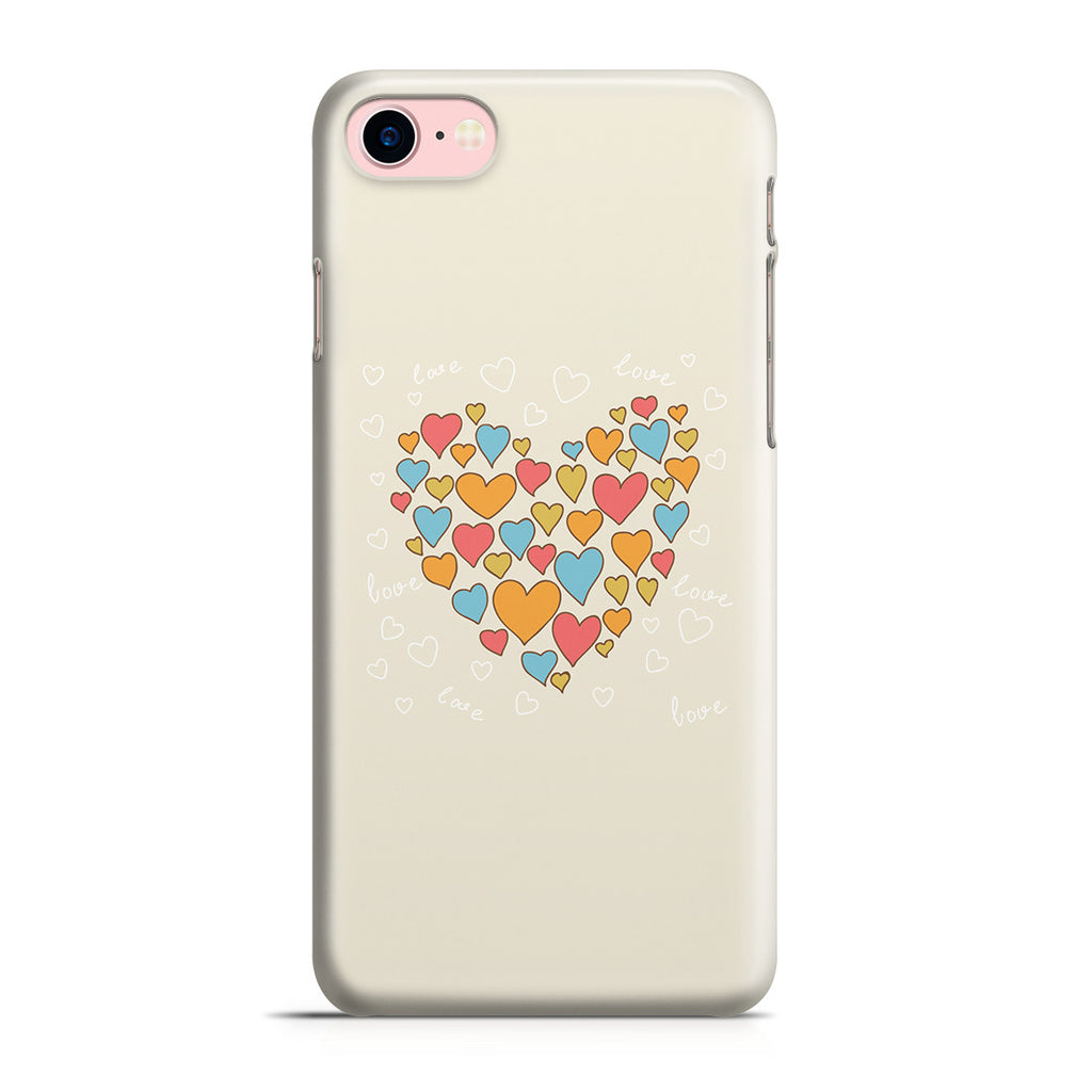 iPhone 7 Case - Heart of Hearts