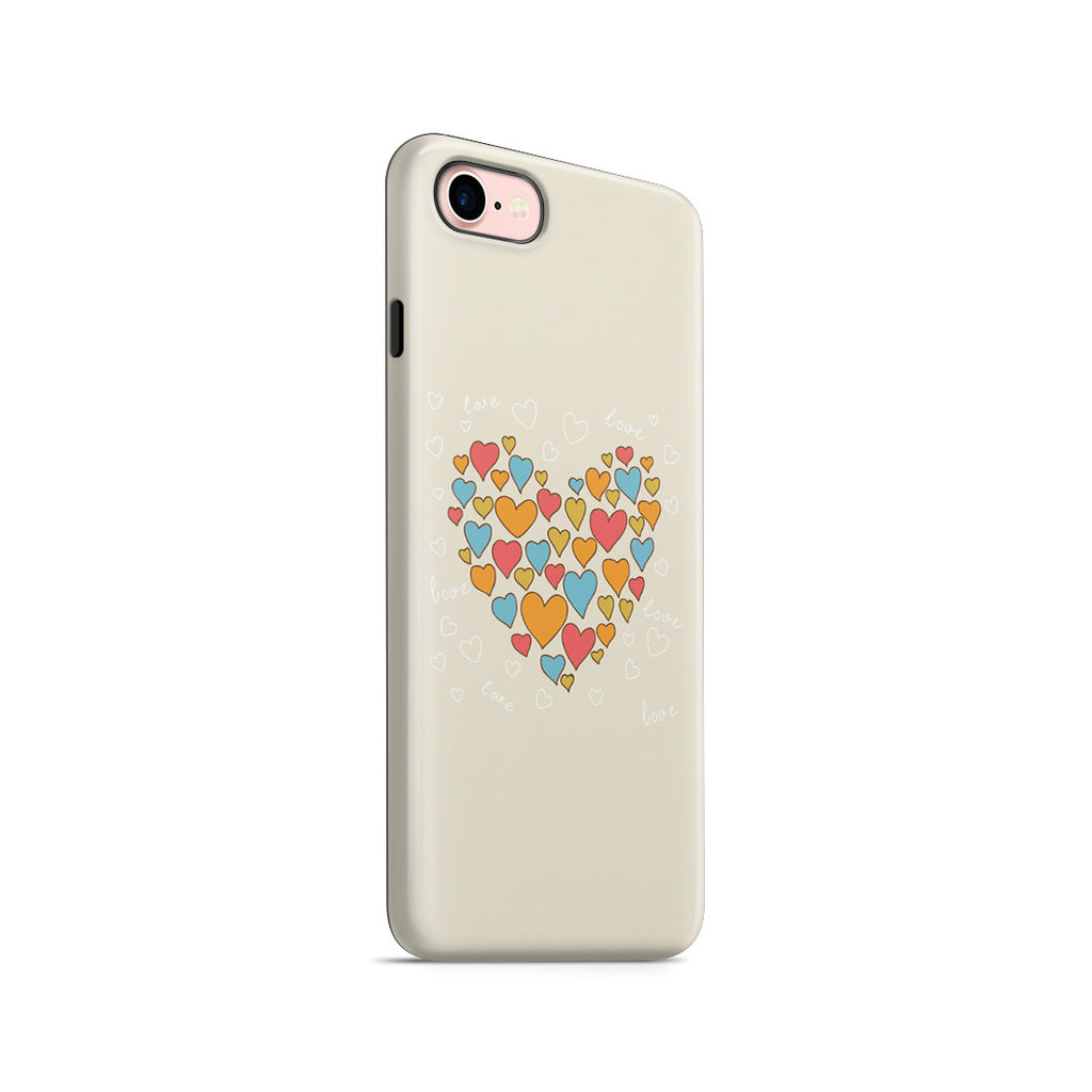 iPhone 7 Adventure Case - Heart of Hearts