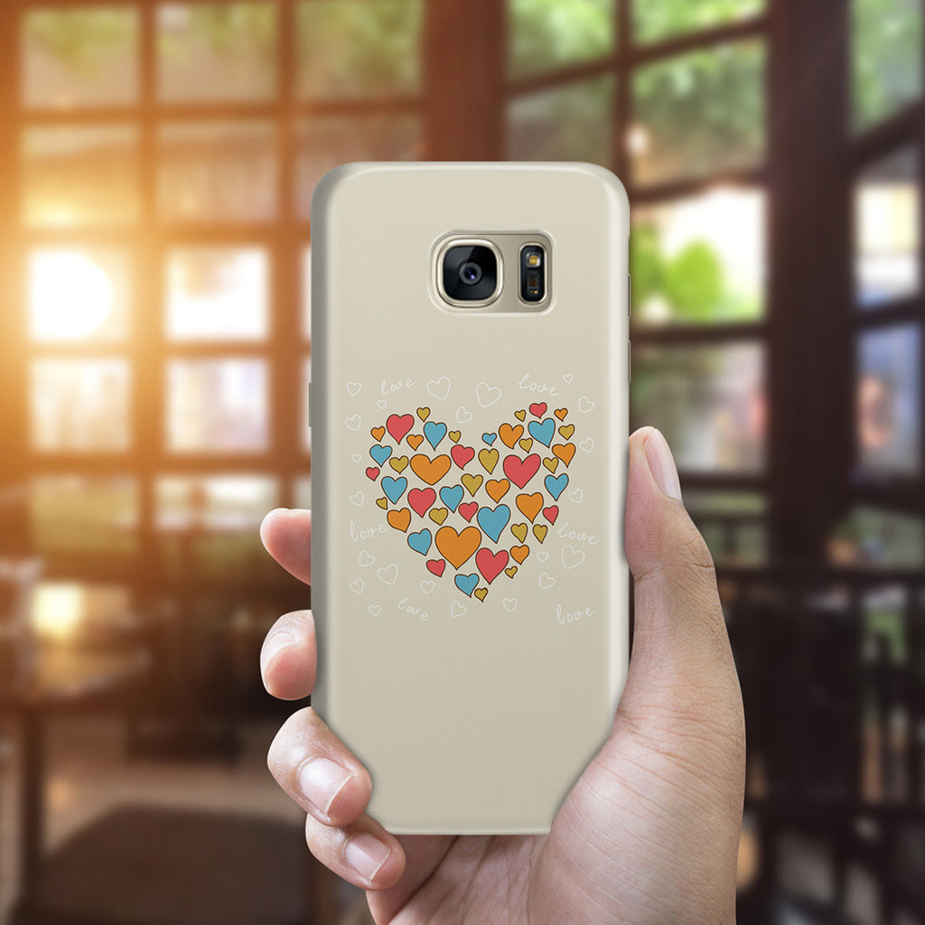 Galaxy S7 Edge Case - Heart of Hearts