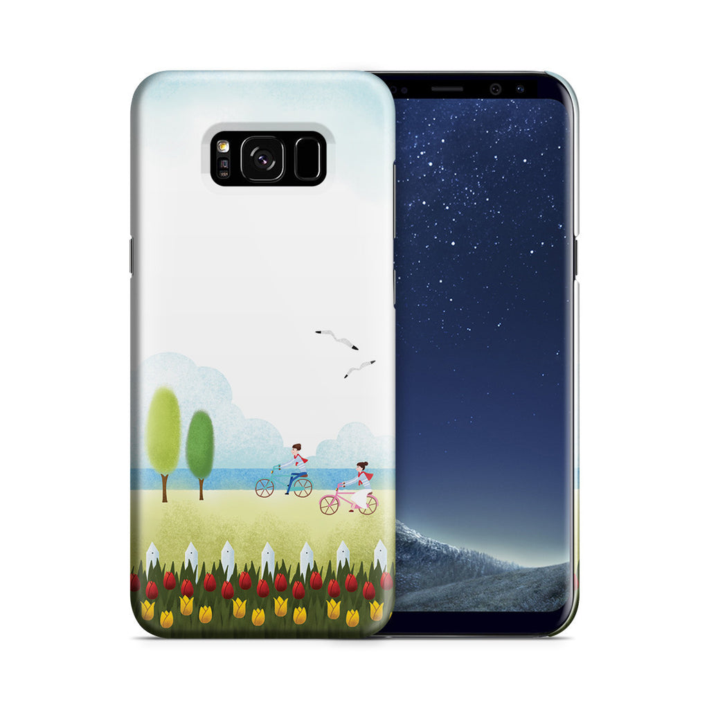 Galaxy S8 Plus Case - True Love is Two of Us Riding Nowhere