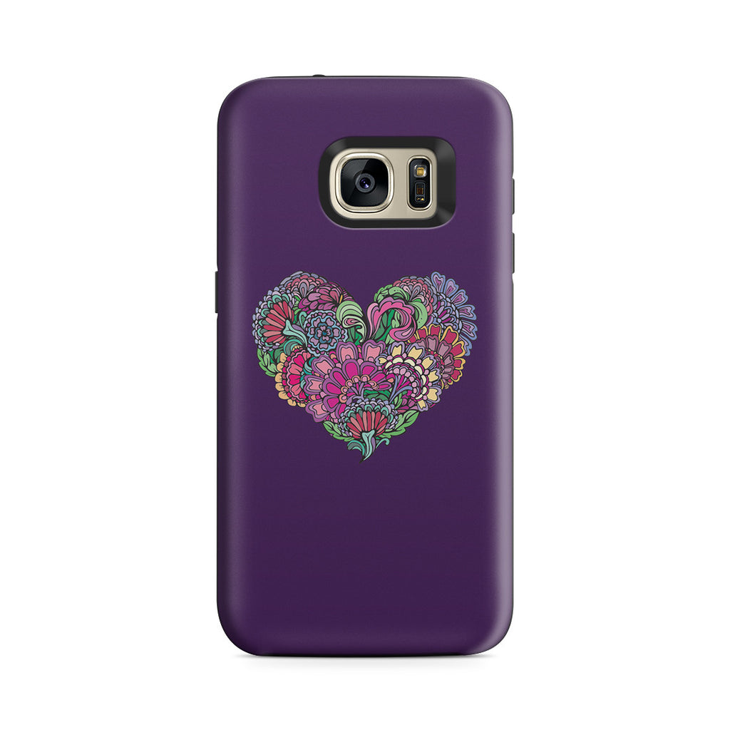 Galaxy S7 Adventure Case - Life is the Flower for which Love is the Honey