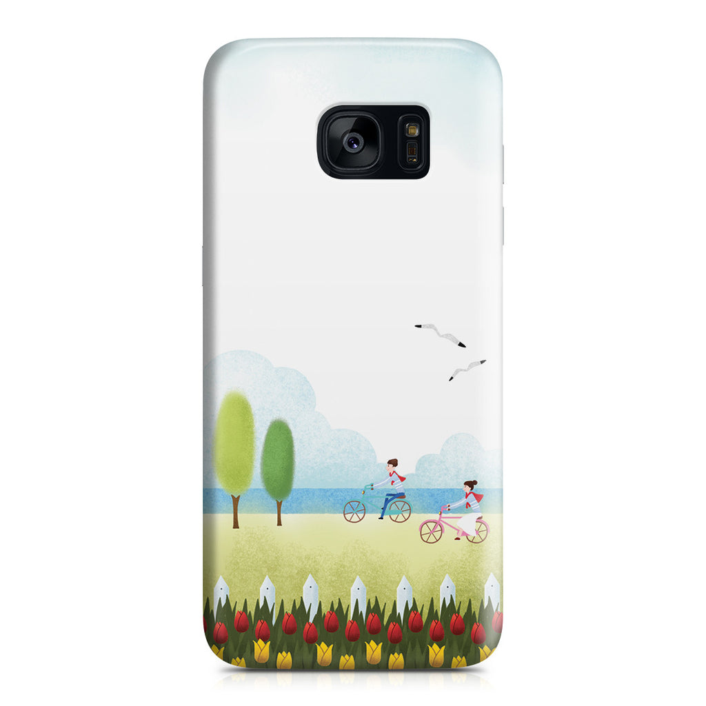 Galaxy S7 Edge Case - True Love is Two of Us Riding Nowhere