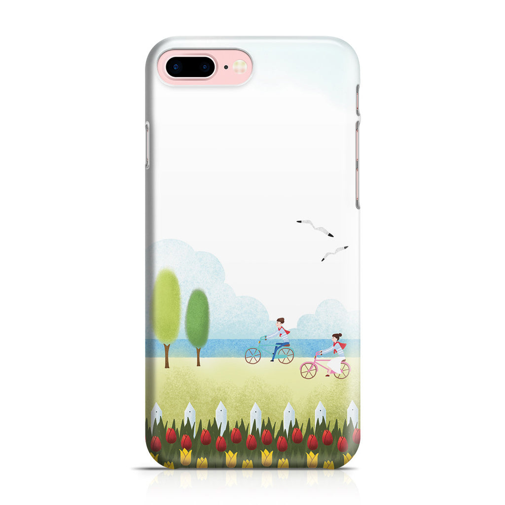 iPhone 7 Plus Case - True Love is Two of Us Riding Nowhere