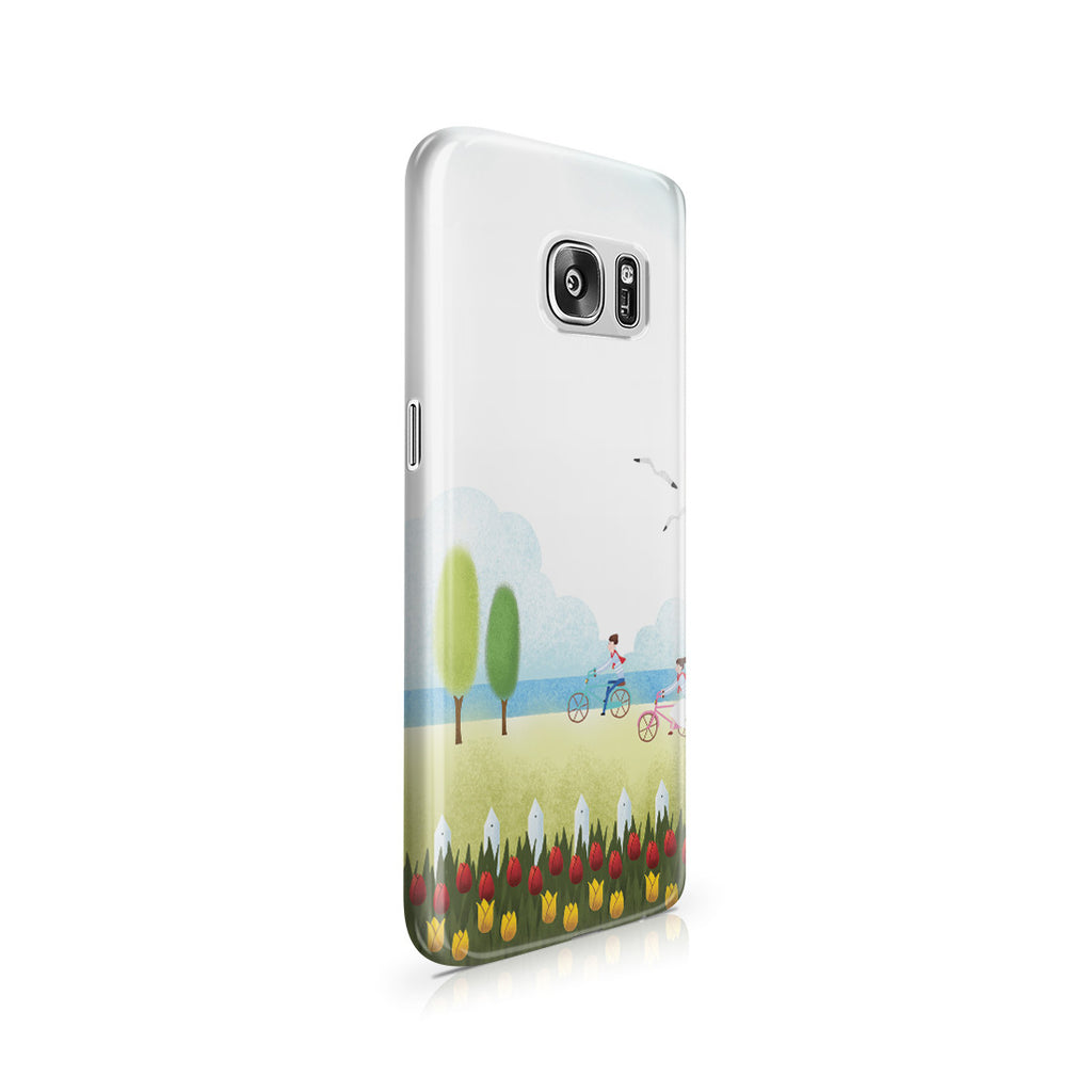 Galaxy S7 Case - True Love is Two of Us Riding Nowhere