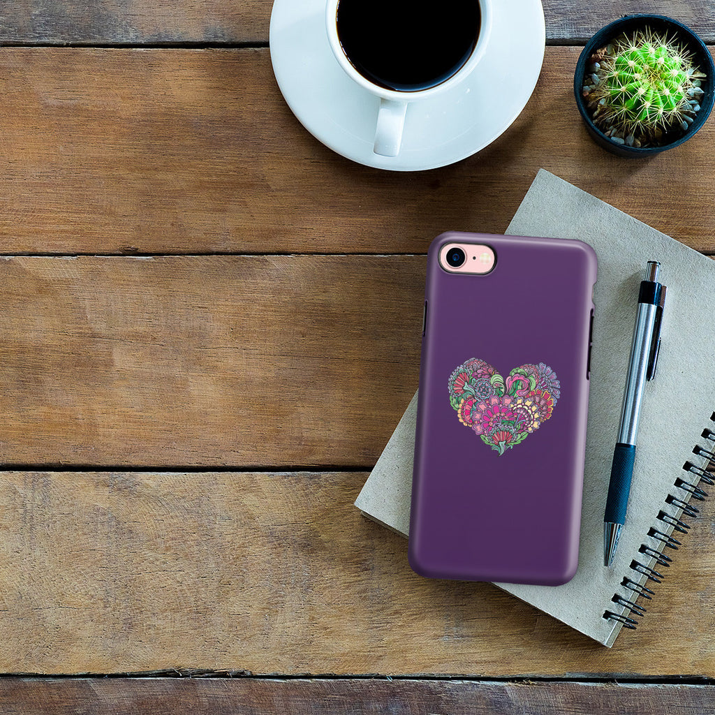iPhone 7 Adventure Case - Life is the Flower for which Love is the Honey