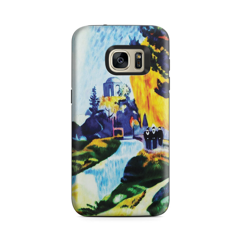 Galaxy S7 Adventure Case - Les Alyscamps, 1888 by Paul Gauguin