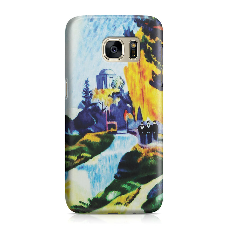 Galaxy S7 Case - Les Alyscamps, 1888 by Paul Gauguin