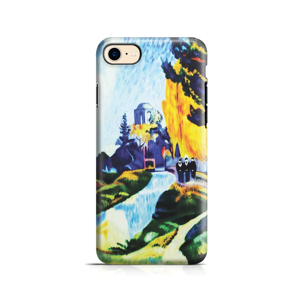 iPhone 7 Adventure Case - Les Alyscamps, 1888 by Paul Gauguin