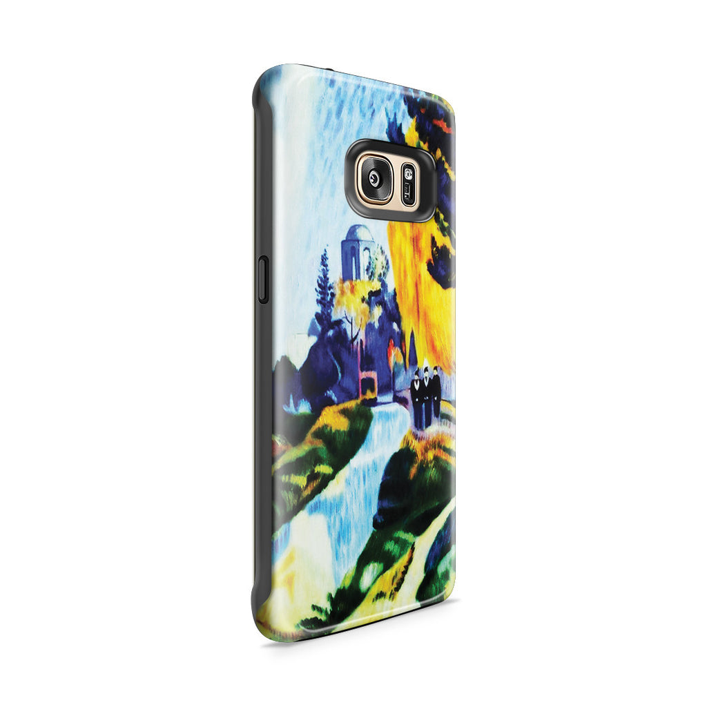 Galaxy S7 Edge Adventure Case - Les Alyscamps, 1888 by Paul Gauguin