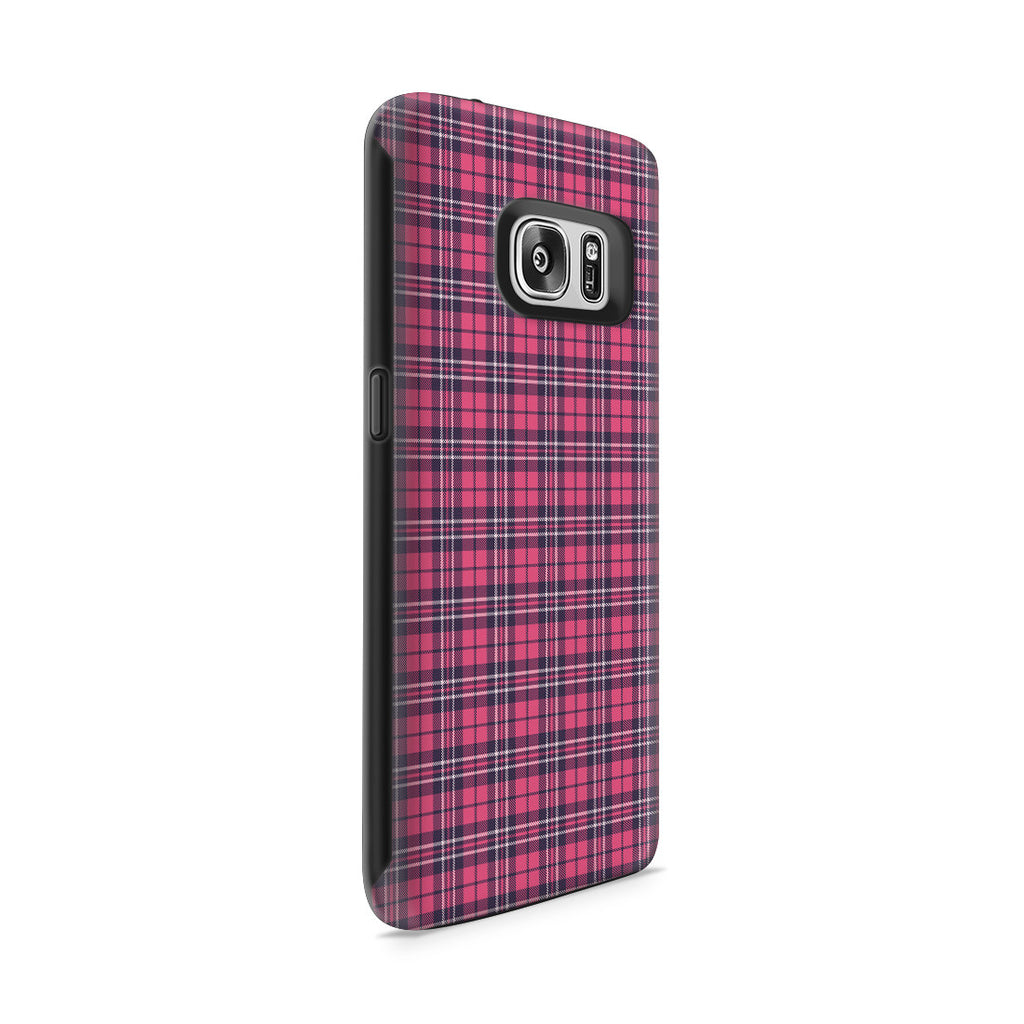 Galaxy S7 Adventure Case - Plaid