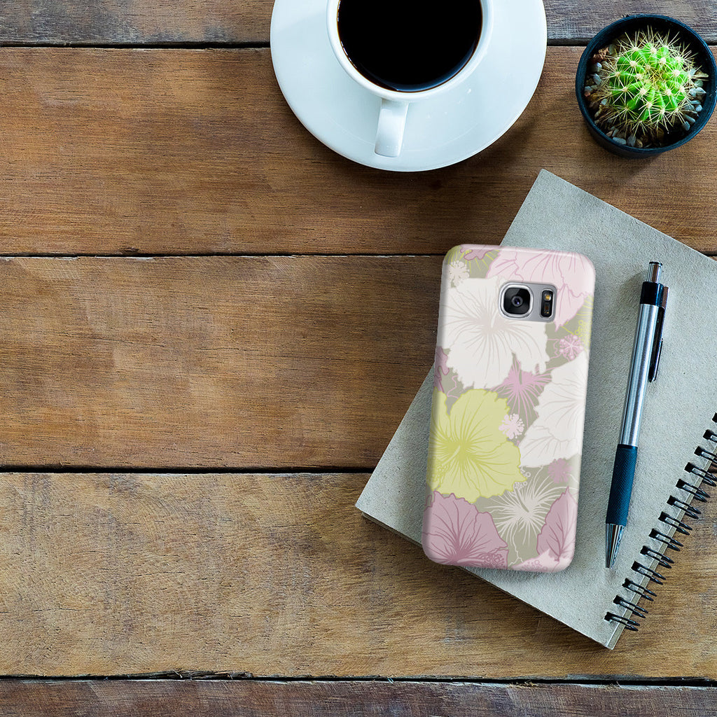 Galaxy S7 Edge Case - Hibiscus