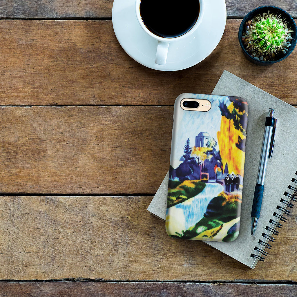iPhone 7 Plus Adventure Case - Les Alyscamps, 1888 by Paul Gauguin