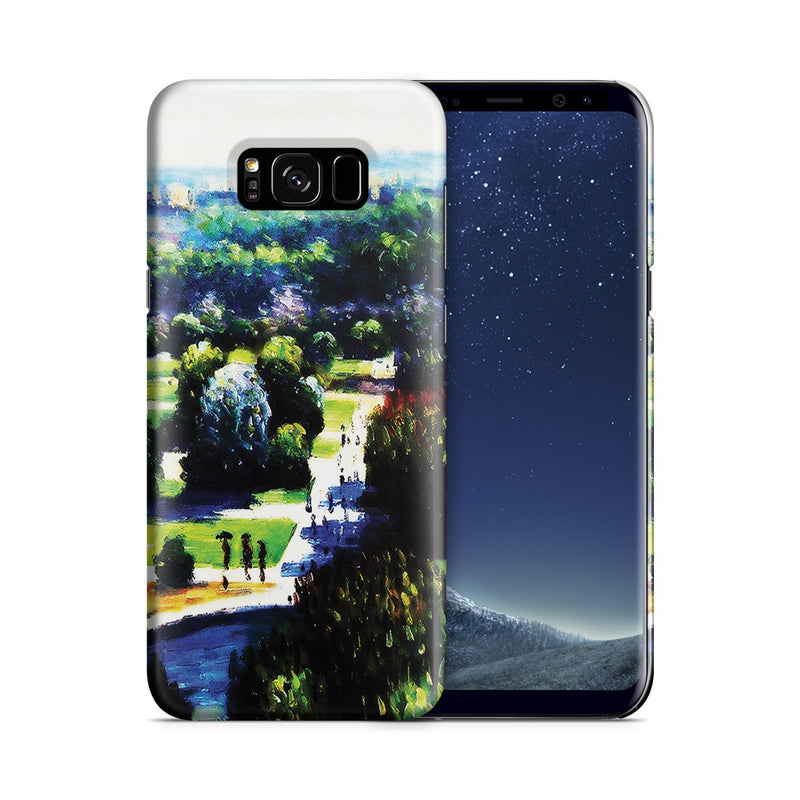 Galaxy S8 Plus Case - Les Tuileries, 1876, Musee Marmottan by Claude Monet