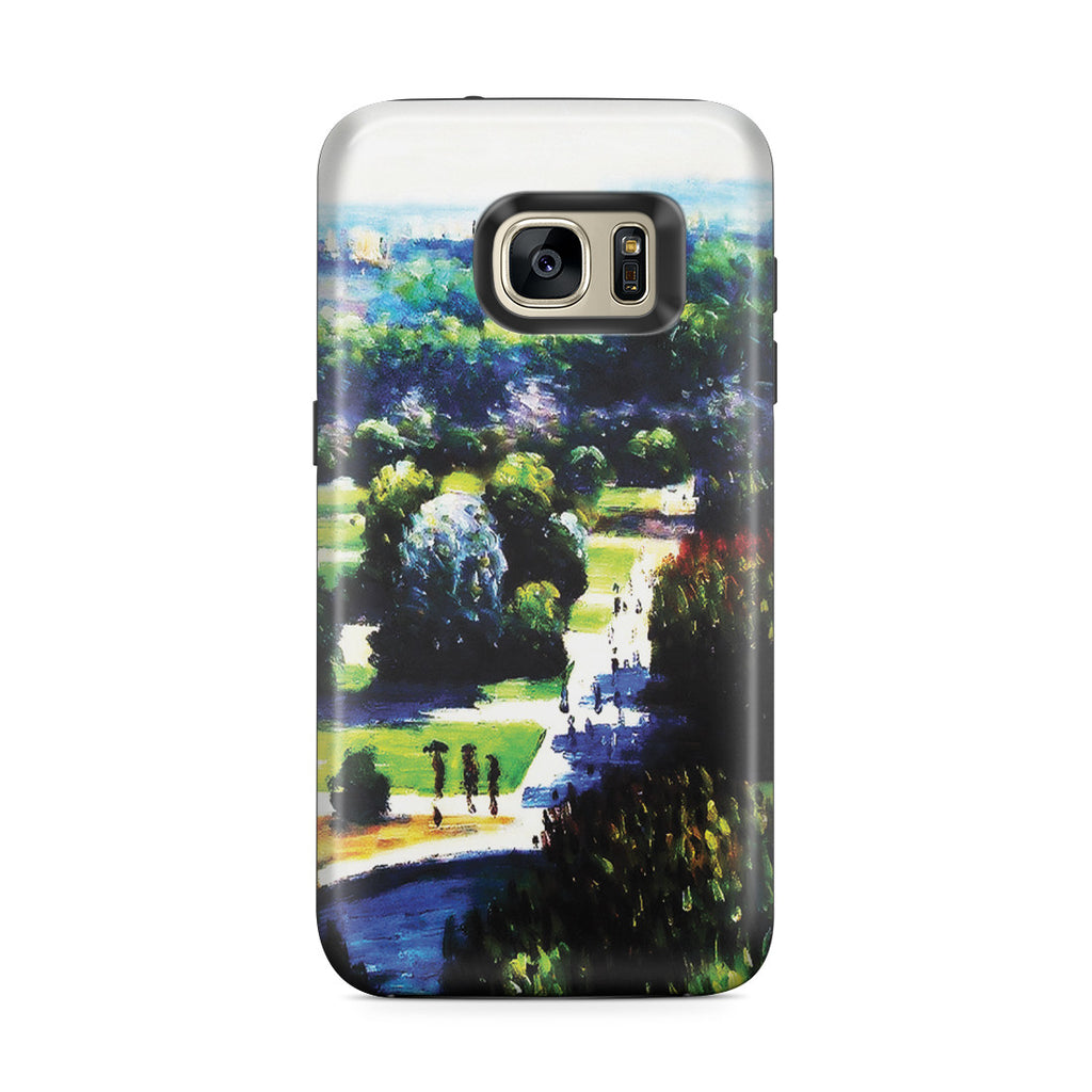 Galaxy S7 Edge Adventure Case - Les Tuileries, 1876, Musee Marmottan by Claude Monet