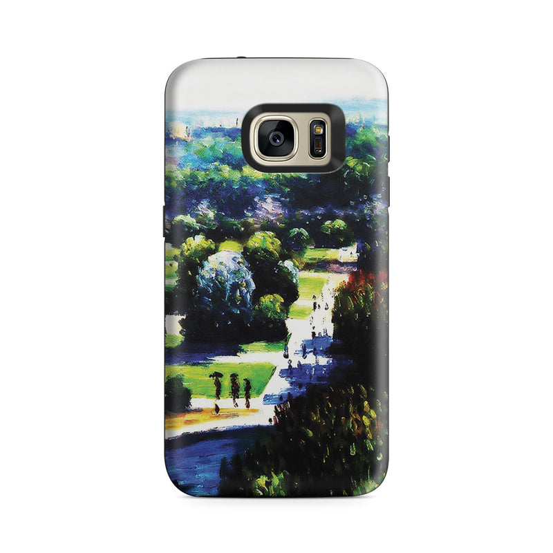 Galaxy S7 Adventure Case - Les Tuileries, 1876, Musee Marmottan by Claude Monet