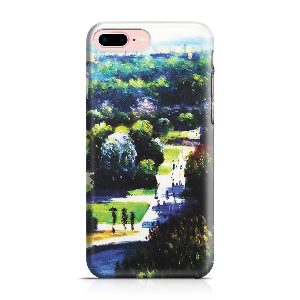 iPhone 7 Plus Case - Les Tuileries, 1876, Musee Marmottan by Claude Monet