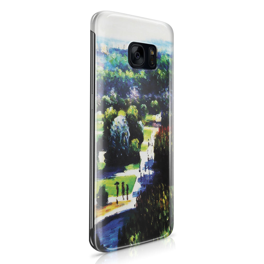 Galaxy S7 Edge Case - Les Tuileries, 1876, Musee Marmottan by Claude Monet