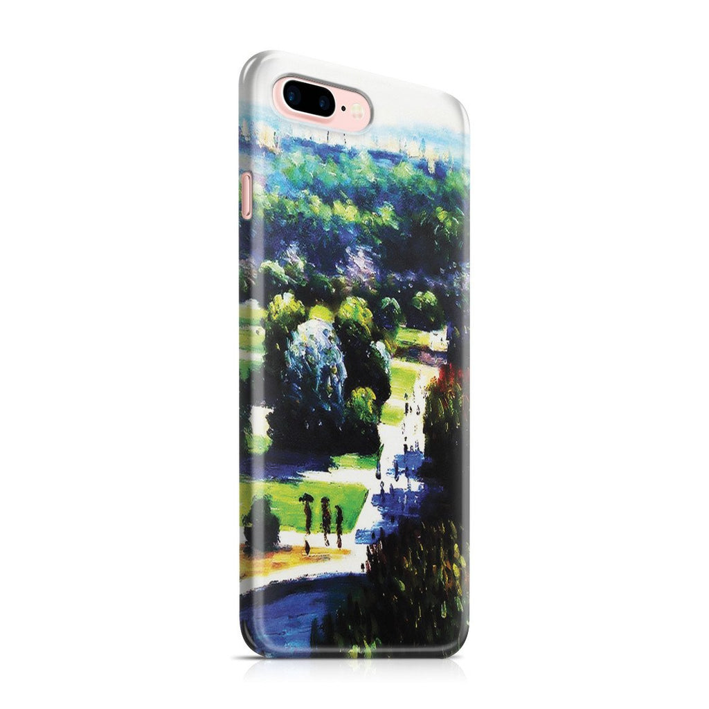 iPhone 8 Plus Case - Les Tuileries, 1876, Musee Marmottan by Claude Monet