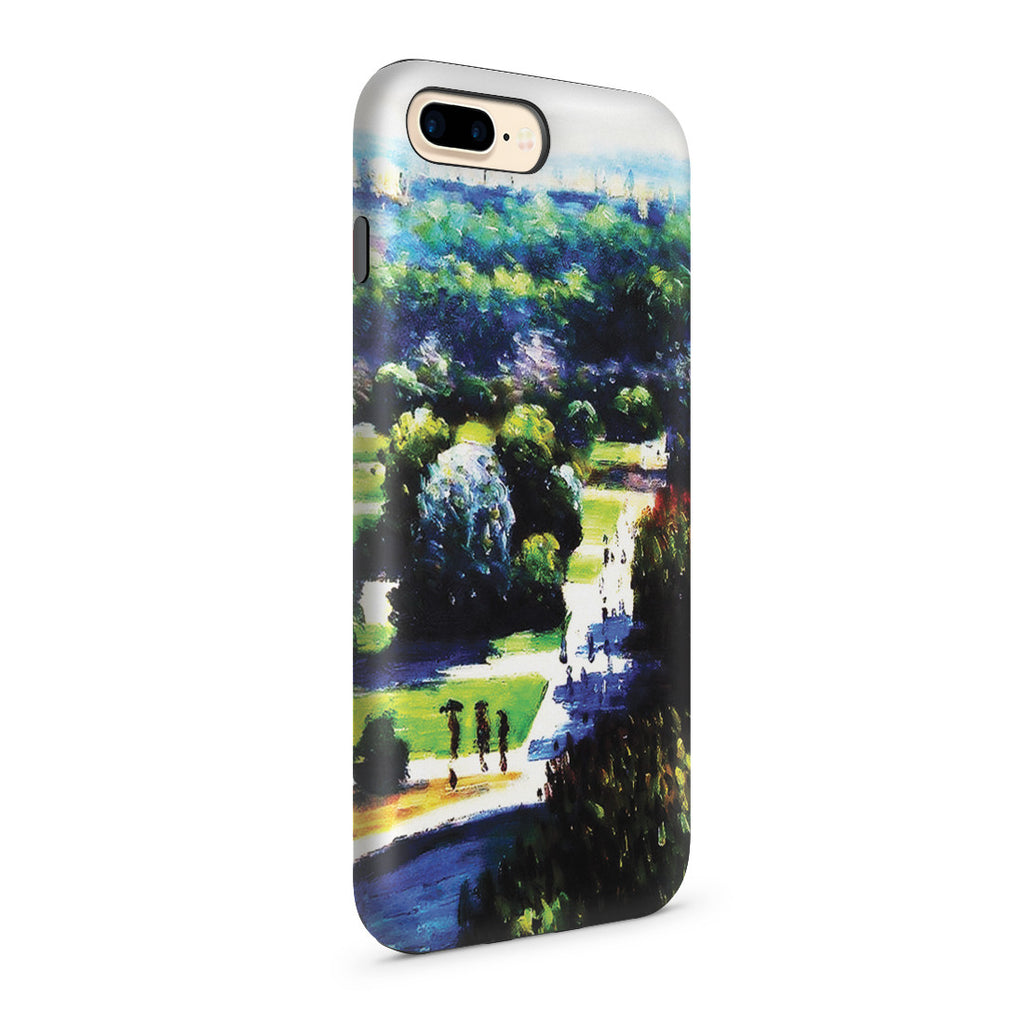 iPhone 7 Plus Adventure Case - Les Tuileries, 1876, Musee Marmottan by Claude Monet