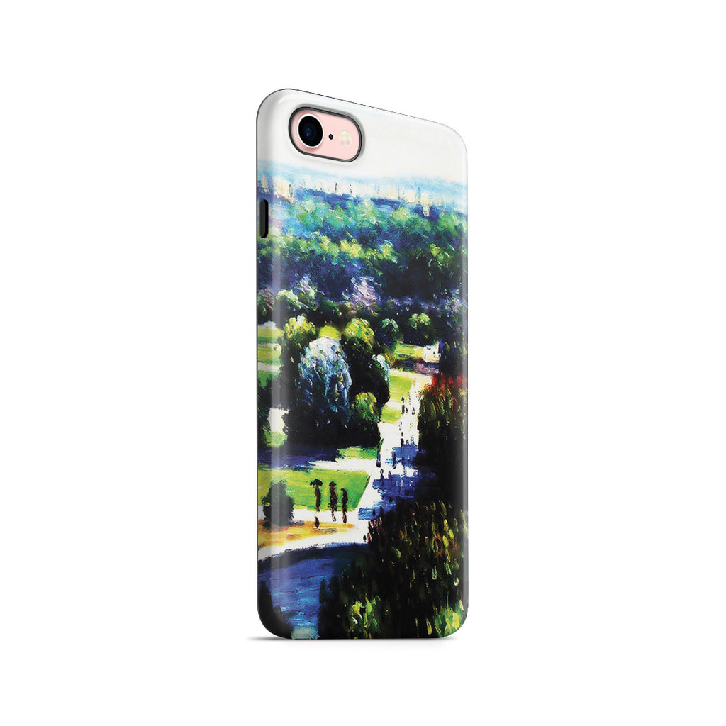 iPhone 7 Adventure Case - Les Tuileries, 1876, Musee Marmottan by Claude Monet