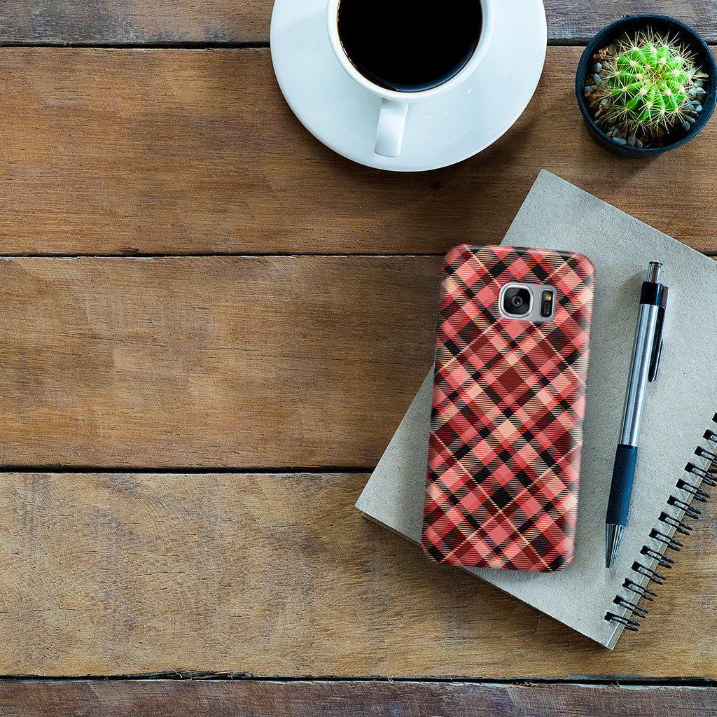 Galaxy S7 Edge Case - Flannel